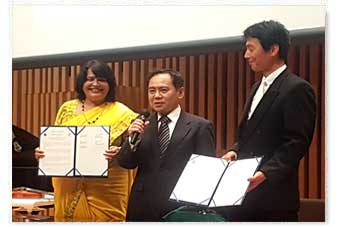 MoU with Dept of Law, SEINAN University (Japan)