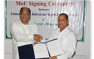 MoU with Embassy of the Bolivarian Republic of Venezuela