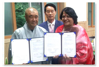 MoU with Maae Temple