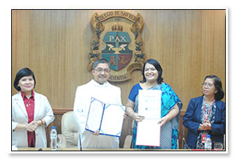 MoU with San Beda College, Manila, Philippines