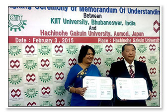MoU with Hachinohe Gakuin University, Japan