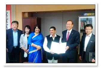 MoU with Dongguk University, Seoul