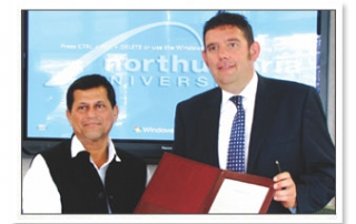 MOU with Northumbria University