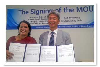 MoU with 9 International Universities