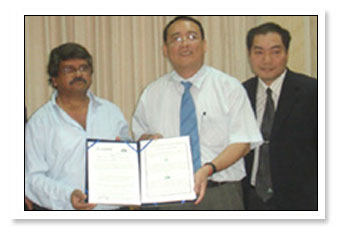 MOU with National Pingtung University of Science and Technology, Taiwan