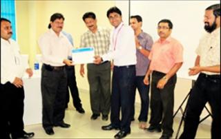 KIITian Gets TCS Best Student Award