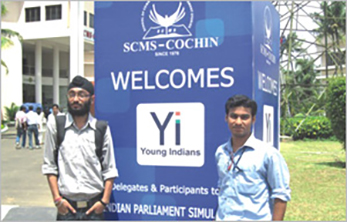 KIIT Students Shine at Indian Parliament Simulation