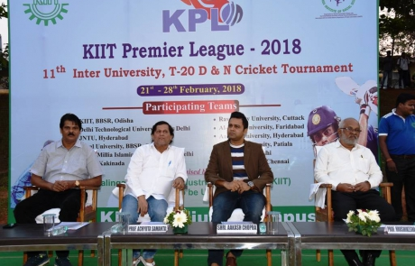 Aakash Chopra as Chief Guest-on inauguration of KPL 2018