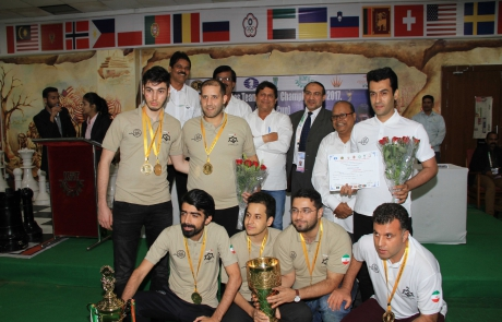 Iran Team Champion in Asian Cities Chess Championship
