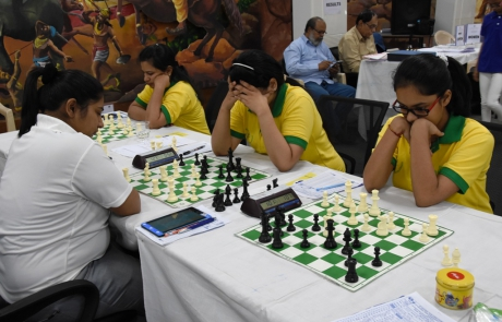 KIIT Team in National Team Chess Championship