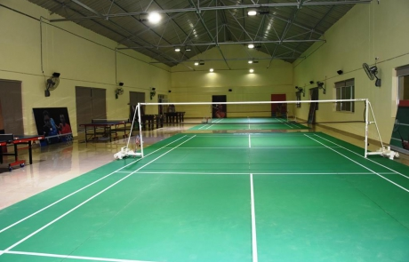 Badminton at KIIT