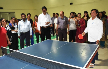 Table Tennis at KIIT 2017