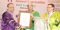 11th-convocation KIIT University.