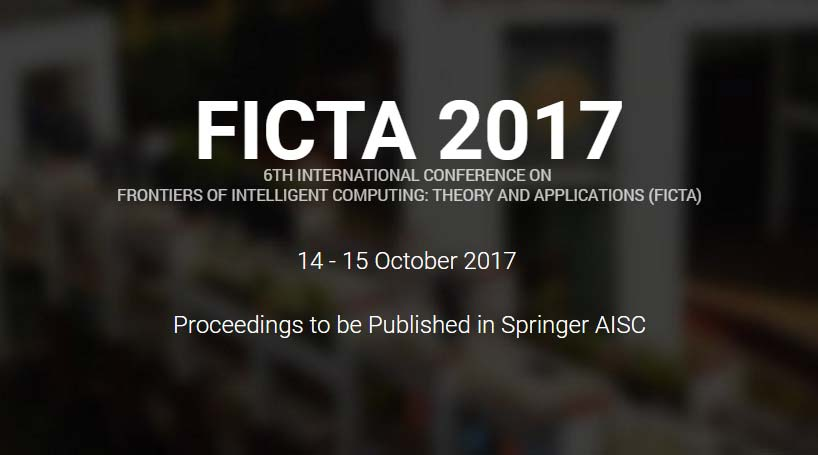 6th International Conference On FICTA