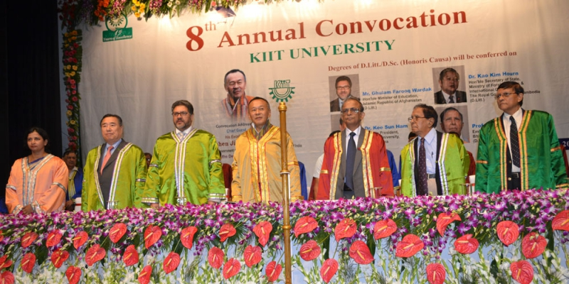 KIIT Holds its 8th Annual Convocation