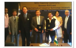 MoU with Busan Foreign University
