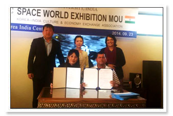 Dr. A. Samanta, Founder, KIIT & KISS at the MOU signing ceremony.
