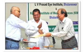 MOU with L V Prasad Eye Institute, Bhubaneswar