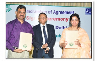 MoU with National Research Development Corporation (NRDC)