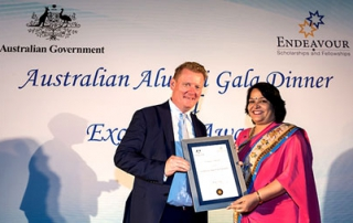 Director, Student Services appointed as Australia Awards Ambassador