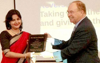 KIIT Professor Awarded at Cambridge University