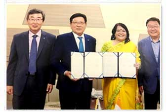 MoU with Jeju National University, South Korea