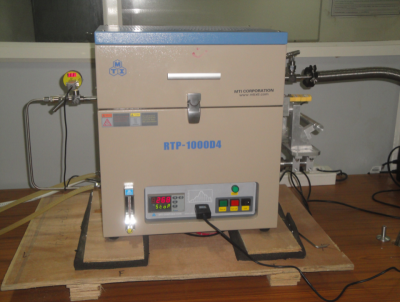 RTP Furnace MAX 1000 oC (MTI, USA) at KIIT