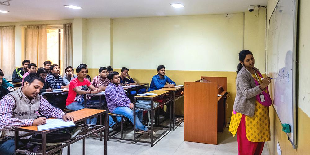 kiit university classroom
