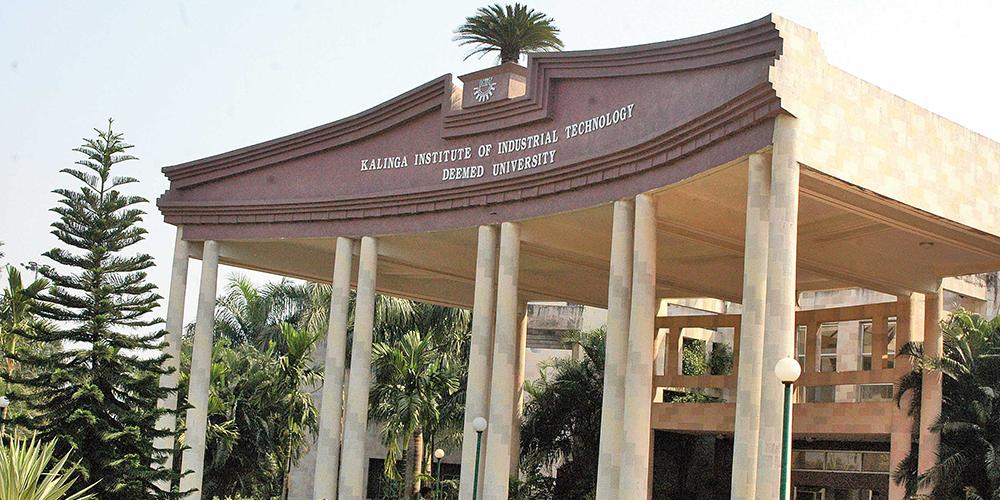 kiit-university-signature-building