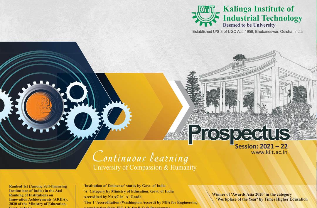 KIIT University Prospectus 2021